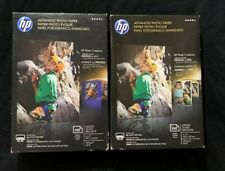 """HP Advanced Photo Paper. 4""""x6"""" Glossy. 100 Sheets Each  ( 2 Pack)"""