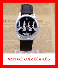 Leather watch collection retro mens watch the beatles lennon mccartney bracelet