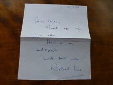 Autograph ROBERT KEE - British BROADCASTER, Journalist & Writer World War Two