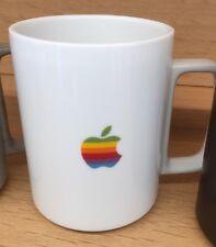 New Apple macintosh Rainbow Logo Hasami White Mug Limited Edition Sold Out Htf