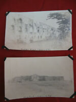 Lot of 2 1920's Antique Photos of Philippines Towns and Scenes #17