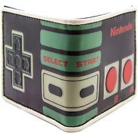 Nintendo NES Controller Retro Schwarz Portemonnaie Geldbörse