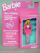 """1995 Forever Fun Barbie Doll """"Twirling Ballerina"""" Keychain Poseable_720-0_Nrfb"""