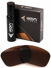 Polarized IKON Replacement Lenses For Oakley Necessity Sunglasses Bronze/Brown