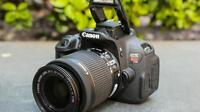 EXCELLENT Canon EOS Rebel T5i / EOS 700D 18.0 MP Digital SLR 18-55mm (3 Lenses)