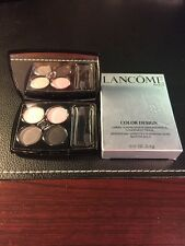 Lancome Color Design Sensational Effects Eye Shadow Quad Smooth Hold New