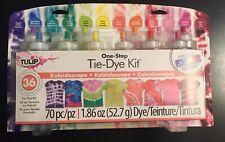 Tulip Spray Teñir Kit 7 Pulverizadores & 7 Colores 44 Piezas Nuevo Fábrica