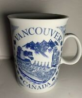 Coffee Cup Mug Vancouver Canada Blue White Souvenir Meaning Of Vancouver