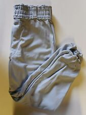 NOS Vtg '80's Spanjian Men's Baseball Pants Small 26-28 Light Gray USA