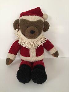 """Hallmark Kris the bear Christmas Santa Teddy Bear 14"""" Tall"""