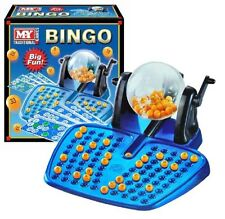 Bingo LOTTO Game 48 Cards 100 Covering Chips 90 Bingo Balls and Ball Dispenser