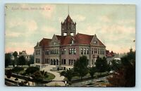 Santa Ana, CA - EARLY 1900s VIEW OF COURT HOUSE - NEWMAN POSTCARD CO