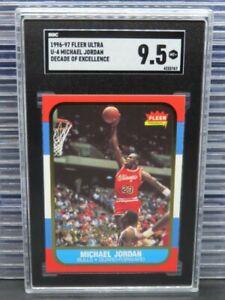 1996-97 Fleer Ultra Michael Jordan Decade of Excellence #U-4 SGC 9.5 (67) Z98