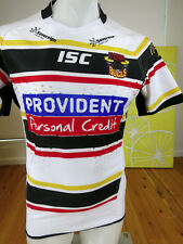 BRADFORD BULLS   PLAYER ISSUED MATCH  JERSEY with grips    MENS SIZE M