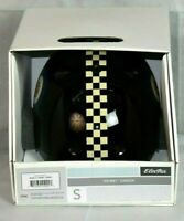 Electra Bicycle Helmet Cream Checkered ABS Hardshell CPSC Certified For Charity!