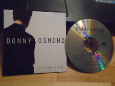 RARE PROMO Donny Osmond CD sampler This Is the Moment RENT Jekyll & Hyde pop !