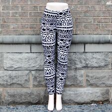 Black and White Printed Leggings S/M