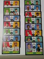 "2020 TOPPS HERITAGE ""THEN AND NOW "" INSERT SINGLES- U PICK COMPLETE YOUR SET"