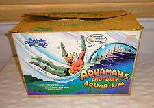 1974 DC Aquaman's Supersea Aquarium w/ Original Box   RARE  Working Lamp!  EXC