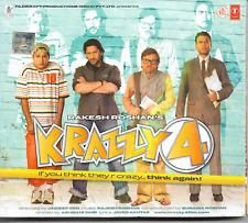 Rakesh Roshan's: 'Krazzy 4' -Bollywood Soundtrack! (CD/2008) VGC FREE S/H