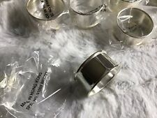 16pc. Silver Tone Finish Napkin Rings New Wedding Party Tableware