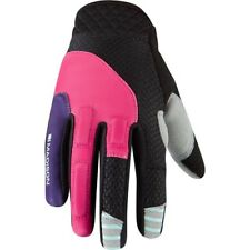 Madison Zena Womens Long Finger Gloves Aw17 M Pink