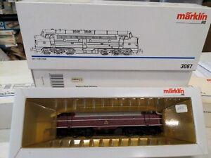 Marklin 3067 Class MY Diesel of the DSB, Digital, Sound, w/ box