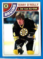 1978-79 Topps TERRY O'REILLY (ex+) Boston Bruins