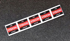 Lot of 5 AMD A8 Vision Stickers 16.5 x 19.5mm APU A Series Case Badges