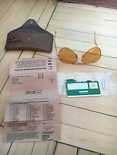 VERY RARE Ray-Ban Bausch&Lomb AMBERMATIC Model 1998 year