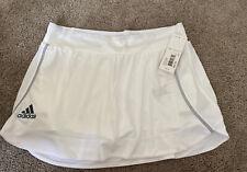 Nwt New Adidas Skort White Simple Medium Msrp: $45