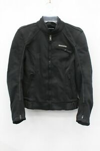 Fieldsheer Women's Black Padded Motorcycle Riding Jacket Size M