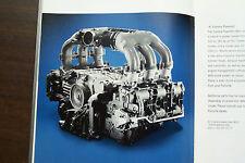 Porsche 911  owners sales brochure 2004 original 996 accessories