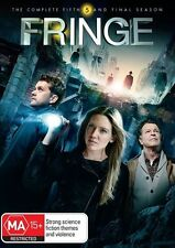 Fringe : Season 5 (DVD, 2013, 4-Disc Set) New, ExRetail Stock (D149)