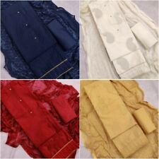 Cotton Salwar Kameez Suits Unstitched Dress Material Indian Pakistani Women Wear
