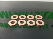 8X OEM Quality Fuel Injector Copper Washers BMW X1 X3 SER / NEXT DAY SHIPPING /