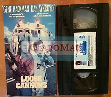 ☀️ Loose Cannons VHS Movie Closed Captioned Dom DeLuise Dan Aykroyd Gene Hackman