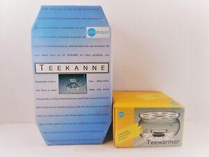 Jenaer Glass Teekanne Teapot 1.0 With Strainer & Lid & Tea Warming Stand NIB