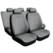 Autositzbezüge SET Schonbezüg Grau  geeignet für Mercedes W202 W203 W204 W205