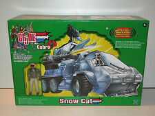 GI JOE 2002 VS COBRA SNOW CAT w/ FROSTBITE v7 MISB - HASBRO TRU EXCLUSIVE