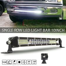 12inch 72W LED Light Bar Work SPOT FLOOD Combo Beam 4WD CAR ATV PK 32 22 10''