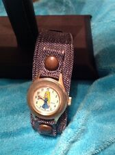 Vintage 1973 Barbie Watch Swiss Made Wind Up Working Condition
