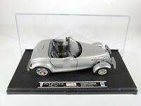 New Ray Plymouth Prowler Silver New in Display Case 1/32 Scale Diecast