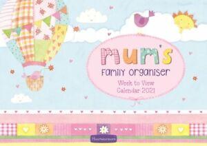 Mum's Week-to-View A4 Planner Calendar 2021 5056308202733   Brand New
