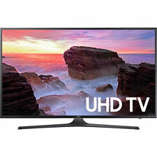 """Samsung UN55MU6300 55"""" Black UHD 4K HDR LED Smart HDTV - UN55MU6300FXZA"""