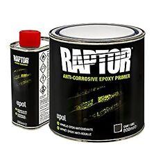 1x Upol RAPTOR 4:1 ANTI-CORROSIVE EPOXY PRIMER 1L Kit BedLiner Protective Coatin
