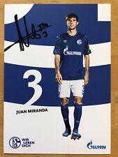 Neues AngebotJuan Miranda AK FC Schalke 04 Autogrammkarte 2019-20 original signiert
