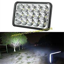 "4""X6"" LED Cree Light Bulb Clear Crystal Sealed Beam Headlight Headlamp IP68 1pc"