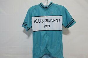 Louis Garneau Equipe Pro Jersey Men's XL LG 1983 Teal Retail $114.99