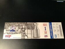 2009 MONTREAL CANADIENS Playoffs Full Ticket GERRY CHEEVERS BOSTON BRUINS
